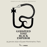 News CONCERTS GODSPEED YOU! BLACK EMPEROR EN TOURNÉE DÉBUT 2022