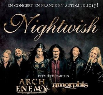 NIGHTWISH-en-France-en-Novembre