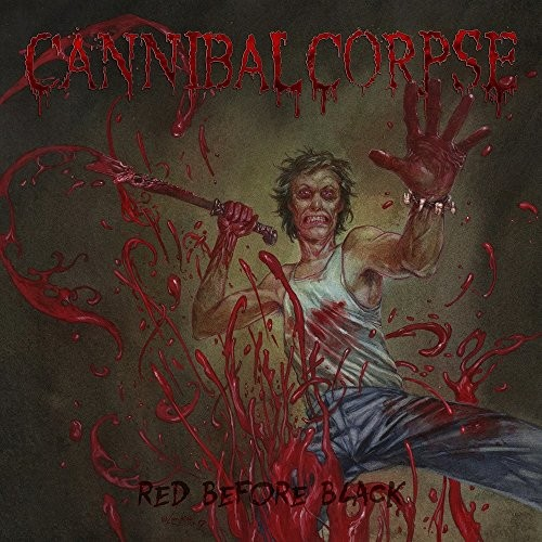 Album CANNIBAL CORPSE Red Before Black (2017)