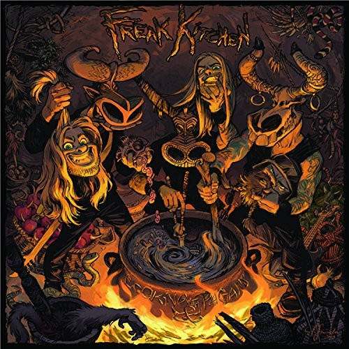 Album FREAK KITCHEN Cooking With Pagans (2014)