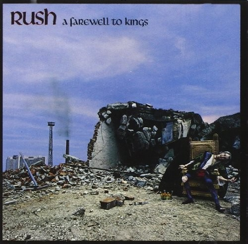 Album RUSH A Farewell To Kings (1977)
