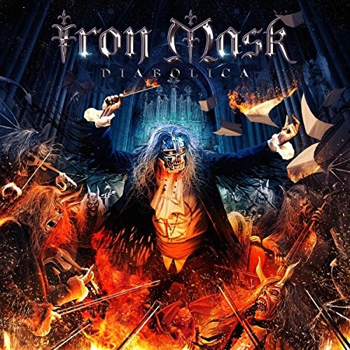 Album IRON MASK Diabolica (2016)