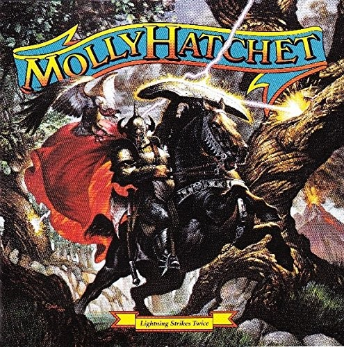 Album MOLLY HATCHET Lightning Strikes Twice (1989)