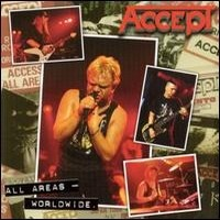 Album ACCEPT All Areas - Worldwide (1997)