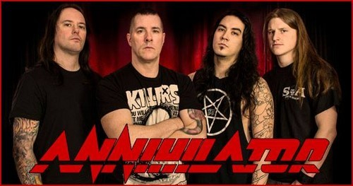 Photo/picture of the band/Artist ANNIHILATOR