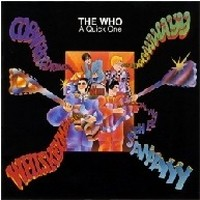 Album THE WHO A Quick One (1966)