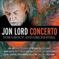 Album JON LORD Concerto For Group And Orchestra (studio) (2012)